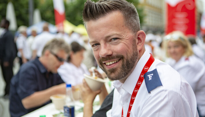 Kommunikasjonssjef Geir Smith-Solevåg i Frelsesarmeen sier det er nødvendig med store endringer i organiseringen i Oslo.