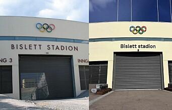 Bislett stadion får tilbake sine gamle skilter