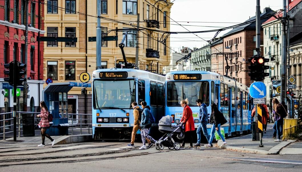 Fra 18. mai får trikken nytt kjøremønster en rekke steder i byen.