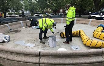 - Folk gjør hærverk og skade på fontener i bydel Sagene