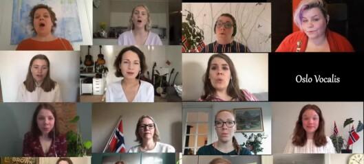 Oslo Vocalis synger Ved Rondane av Edvard Grieg. Se den stemningsfulle videoen