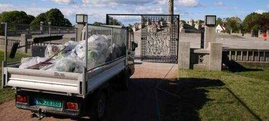 Opprydding etter at mellom 500 og 1.000 russ festet i Frognerparken: - Vi kan ikke være smittevernpoliti