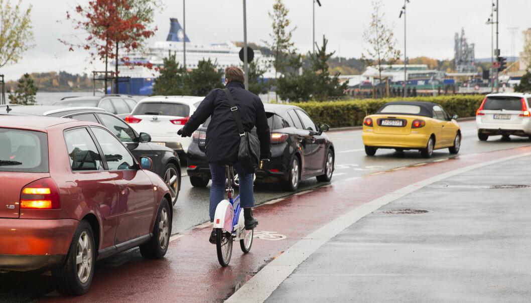Byråd for byutvikling, Hanna Marcussen (MDG), sier de langt fra er i mål og at de nå skal starte arbeidet med å redusere biltrafikken ytterligere.