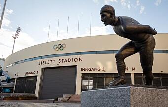 Nå får Bislett Stadion sin stilrene skilting tilbake
