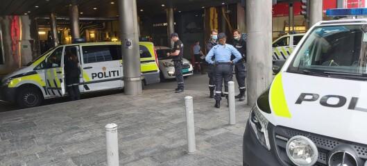 Melding om knivstikking ved Oslo S