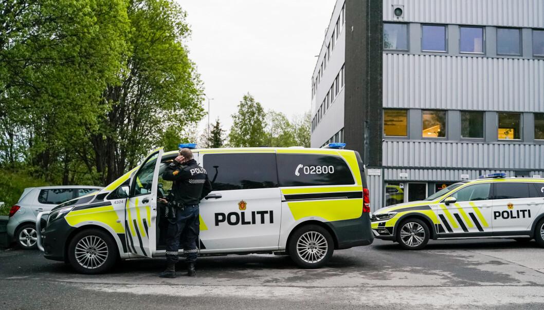 En mann ble ranet med hammer i nærheten av Ammerud Bingo i Oslo fredag kveld.