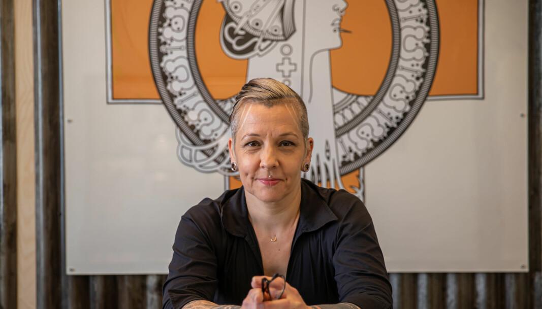 Christiane Løfblad har piercet folk i inn-og utland siden 1994. Pinpoint Piercing har hun drevet siden 2005.