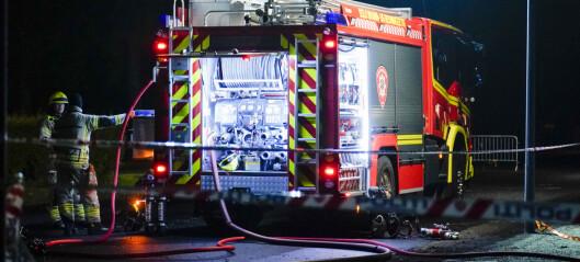 Politiet mistenker ildspåsettelse etter brann i Trondheimsveien