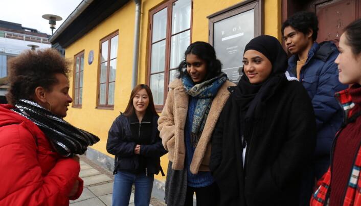 PTAB møtte den kenyanske kunstneren Syowia Kyambi i forbindelse med hennes gjestekunstner-opphold i Oslo.