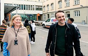 Endelig får elevene ved Sofienberg skole benytte Sofienbergparken i friminuttene