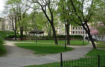 Milliondryss til byens parker og møteplasser. Se hele oversikten her