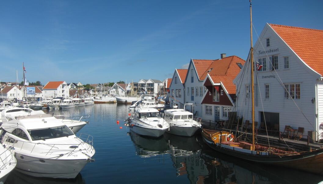 Skudeneshavn.