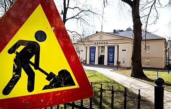 Hvor graves det akkurat nå? Hvem graver? Klikk deg frem til graving i hele Oslo