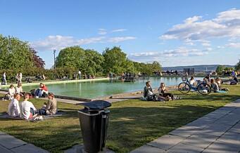 Bydel St. Hanshaugen gjør det sommerklart for folk i parkene