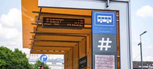 Reisende med buss og trikk vil akseptere dyrere bussbillett for å få vente under tak