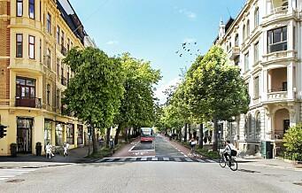 – Lim Oslo sammen med sykkelfelt
