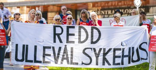 Frp, Sp og Venstre kaller inn til høring om Ullevål sykehus