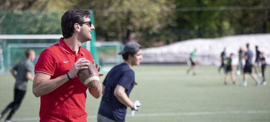 Oslo Vikings er i full gang med treningene igjen i amerikansk fotball