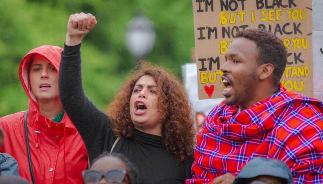 Ingen rasister i våre gater!