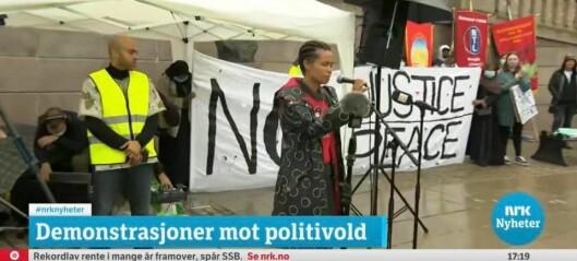 Guro Jabilisile Sibeko slammet folk til tårer under George Floyd-demonstrasjonen