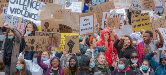 69 bilder fra George Floyd-demonstrasjonen mot rasisme og politivold