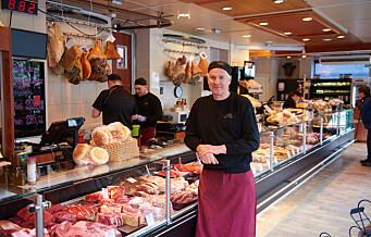 Strøm-Larsen på Torshov selger mer kjøtt enn noensinne i disken, men har måttet permittere 10 medarbeidere