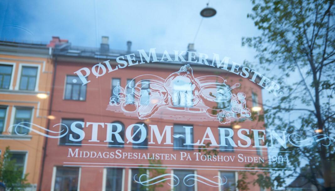 Strøm-Larsen ligger i Vogts gate på Torshov.