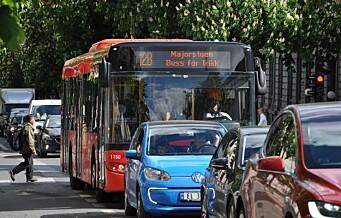 - Steng Bygdøy allé og Drammensveien for biler i rushtiden, foreslår Venstre. Kan få flertall i bystyret