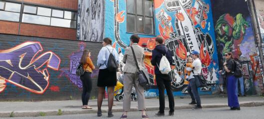Ny urban vandring viser Oslos beste gatekunst og graffiti