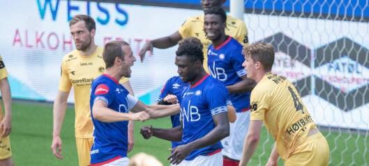 Vålerenga seirende ut av generalprøven mot Bodø/Glimt