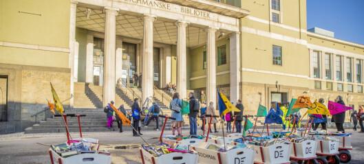 Deichmanske bibliotek til salgs for 58 millioner