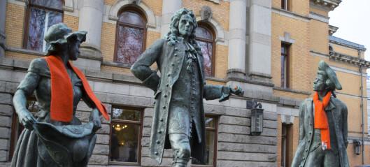 Flere tusen har signert krav om å fjerne statuer av Churchill og Holberg