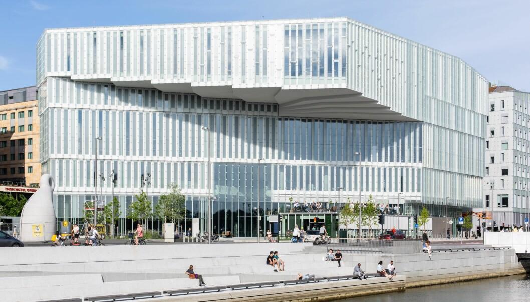 Utlånet på det nye hovedbiblioteket er rekordmye høyere enn på det gamle hovedbiblioteket.