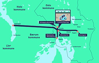 Oslo skal ha ny vannforsyning. Og borer en 19 kilometer lang vanntunnel til Huseby i Oslo vest