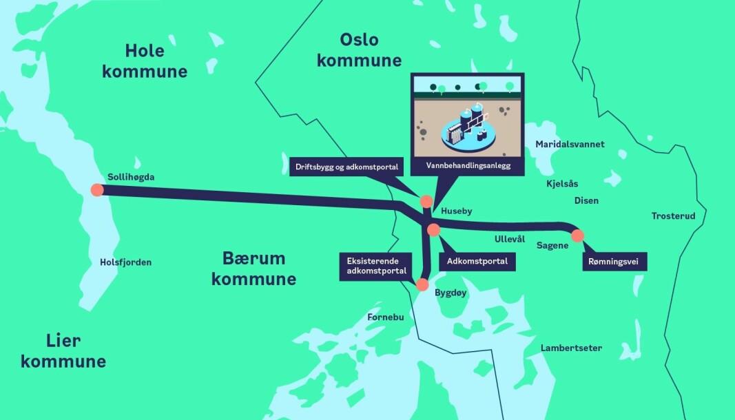 Prosjekt Ny vannforsyning Oslo er kommunens største enkeltinvestering noensinne.