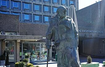 – Er det riktig å ha Churchill på pidestall?