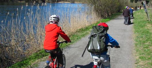 Ukens turtips på sykkel: Fra Østmarka til Bryn via Østensjøvannet