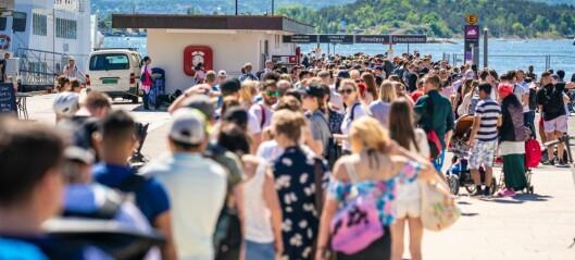 Flere får reise med Oslo-fergene. Øker kapasiteten fra 50 til 80 passasjerer