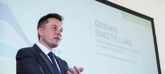 Elon Musk-selskap viser interesse for Fornebubanen