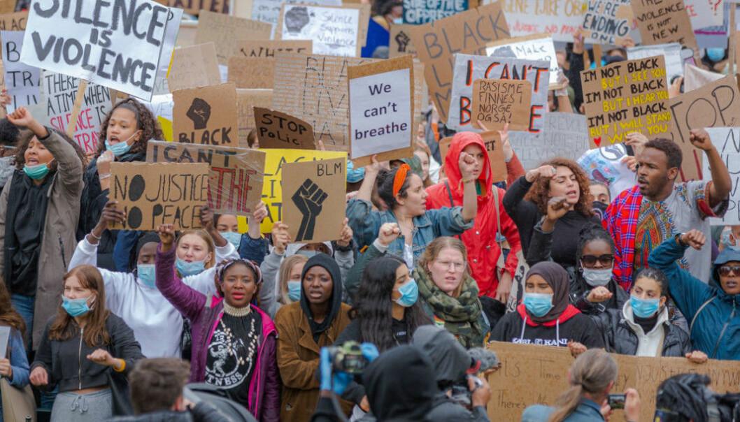 — Jeg ville tro at hvis mange var blitt smittet under demonstrasjonen, så skulle vi egentlig ha sett det nå, sier Oslos smittevernoverlege.