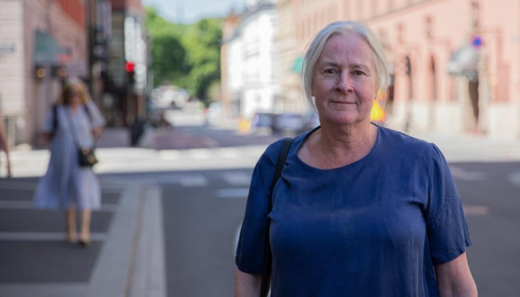 — Vi kan ikke bli stengt ut fra der vi bor gjennom fysisk stengte gater, sier leder Berit Jagmann i Grønland beboerforening.
