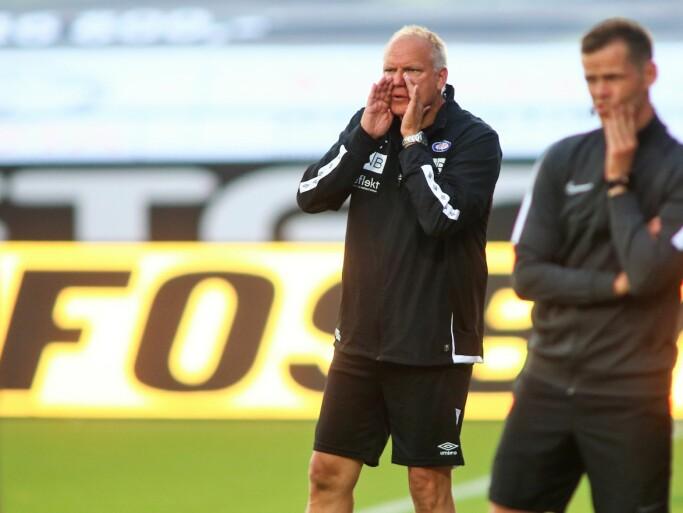 Vålerengas nye trener, Dag-Eiliv Fagermo, var ikke helt fornøyd til tross for seier over Sarpsborg 08 i serieåpninga.