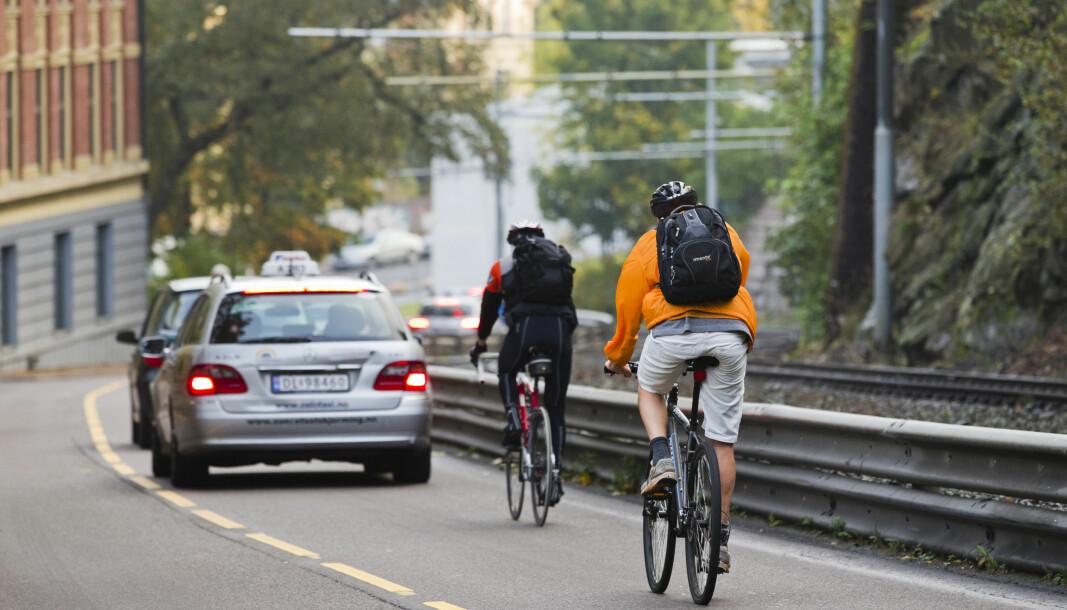 Syklistene skulle få Kongsveien for seg selv i rushtiden, men nå er tiltaket avlyst.