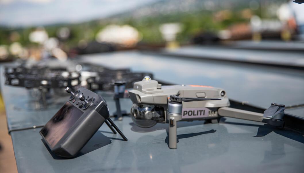 Dronene er, i likhet med alt annet politimateriell, uniformert. Politiet bruker to ulike modeller så langt.