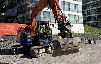 Endelig begynner arbeidet med bygging av park på Ensjø