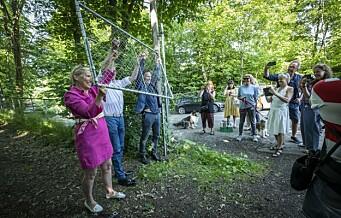 Kikutkollen blir naturpark. Og portene til området åpnes umiddelbart