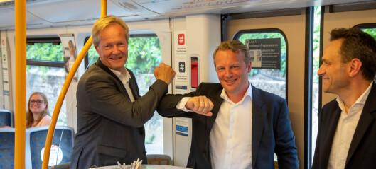 Verdensnyhet: T-banen i Oslo skal styres over mobilnettet. Da kan banen kjøre både oftere og bli mer presis