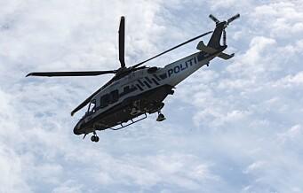 Politihelikopter søkte over Mortensrud etter flere smell