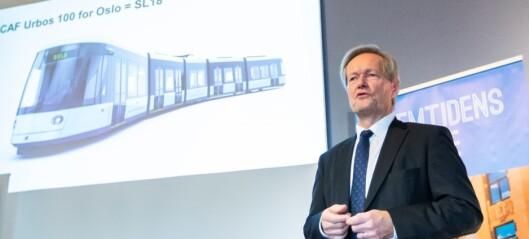 Sporveissjefen blir ny styreleder i Bane Nor