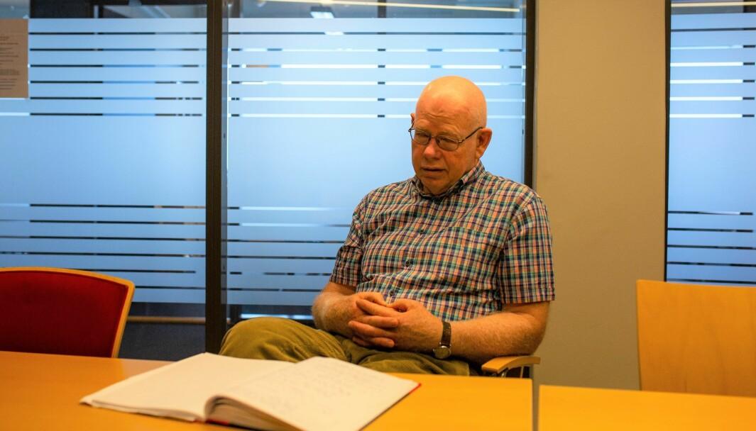 Det ble en travel vår for Oslos smittevernoverlege Tore W Steen. Det sørget koronaviruset for.